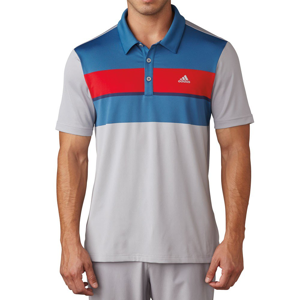 adidas Climacool Chest Block Polo Shirts
