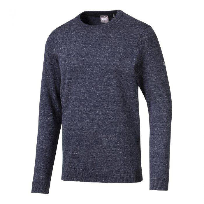 Puma Cotton Crew Neck Sweaters