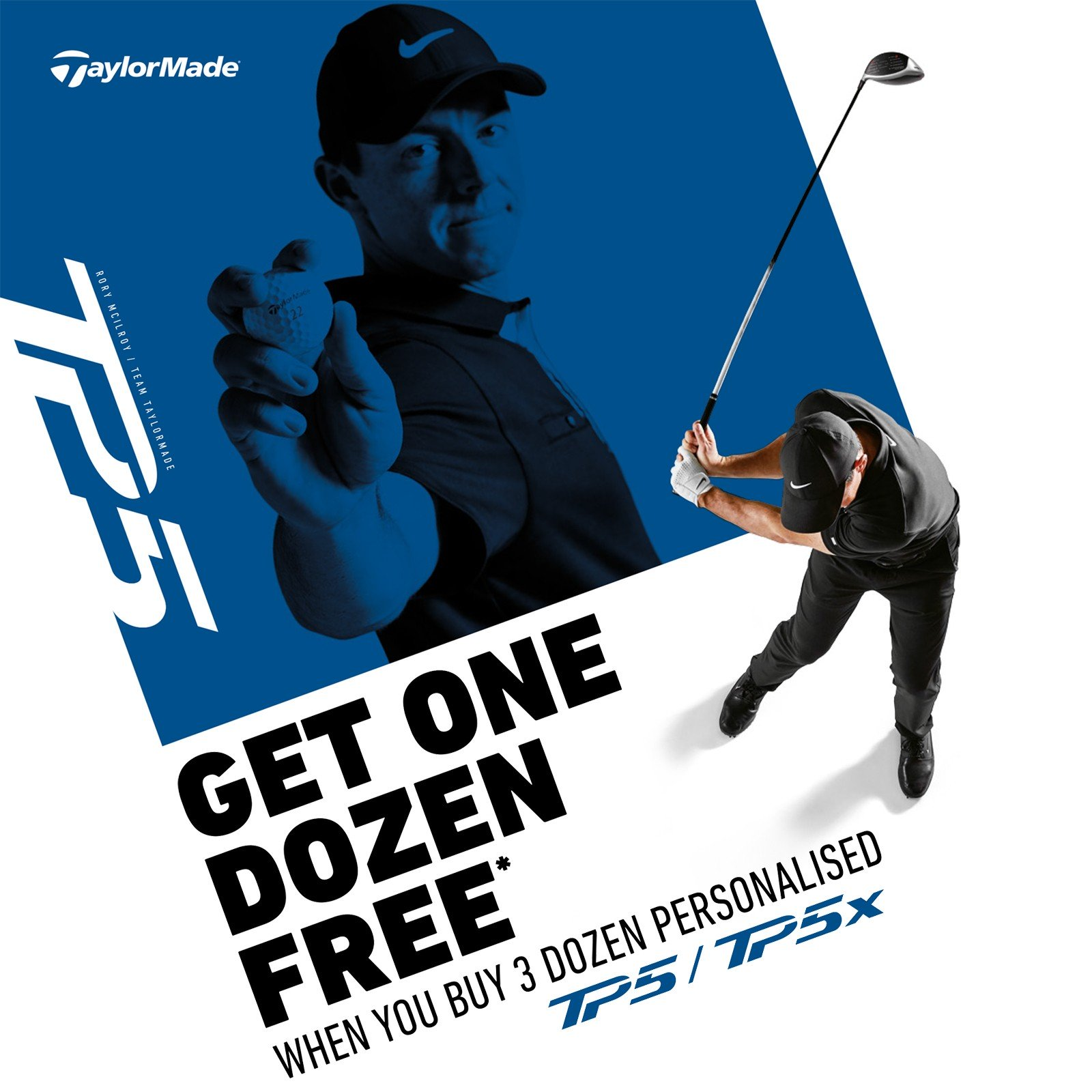 4 For 3 on Taylormade TP5 Golf Balls