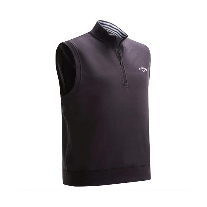 Callaway French Terry 1/4 Zip Vests