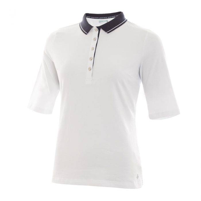 Green Lamb Pat Jersey Club Half Sleeve Polo Shirt