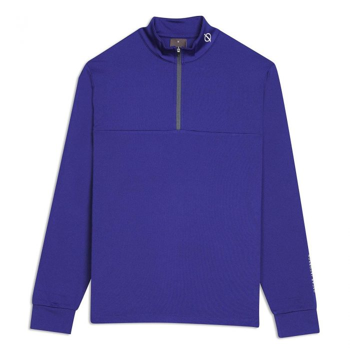 Oscar Jacobson Jonathan Thermal Half-zip Sweaters