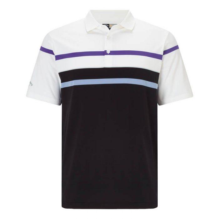 Callaway Refined Stripe Roadmap Polo Shirts