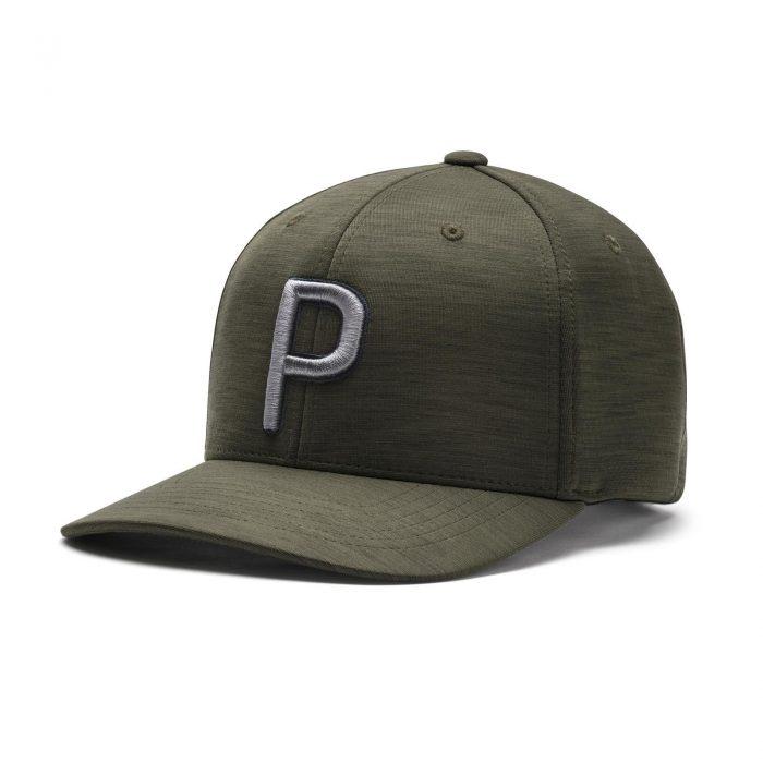 Puma P Snapback Caps