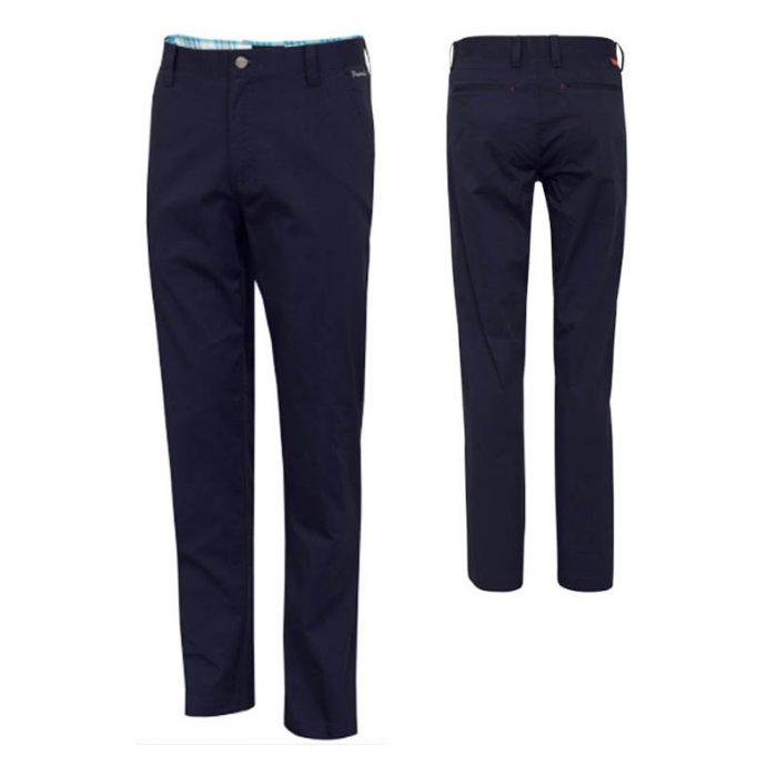 Dwyers & Co Titanium Chino Trousers