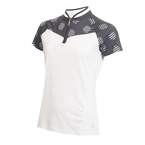 Green Lamb Edita Raglan Sleeve Polo Shirt