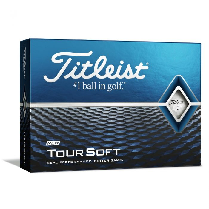 Titleist Tour Soft Golf Balls - New 2020 - Multibuy x 3