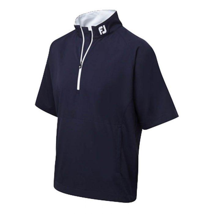Footjoy Performance 1/2 Zip Short Sleeve Wind Shirts