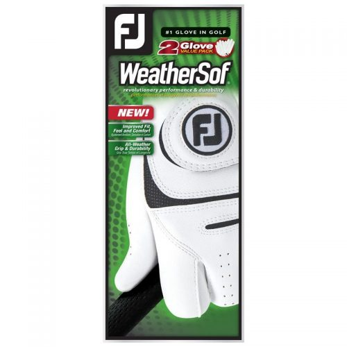 Footjoy Weathersof Mens Golf Gloves (2 Pack)