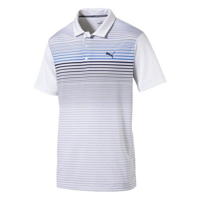 Puma Highlight Stripe Polo Shirts