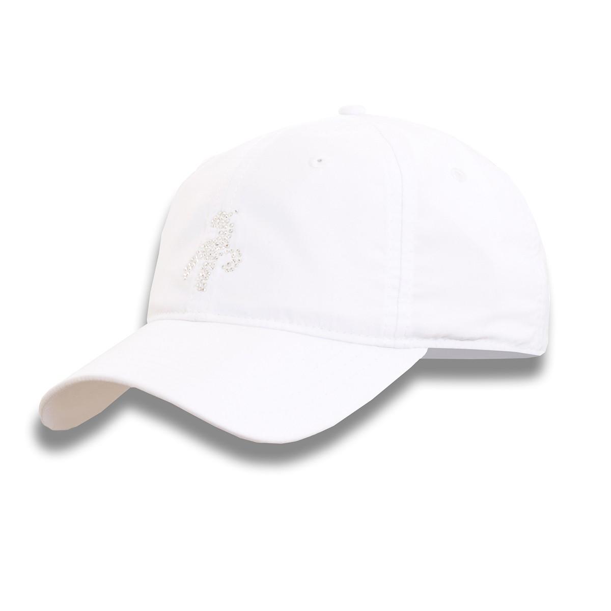 Green Lamb Delila Diamante Baseball Caps
