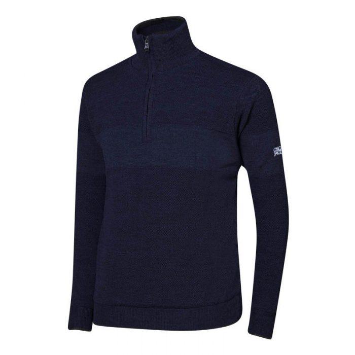 Oscar Jacobson Anders Half-zip Sweaters