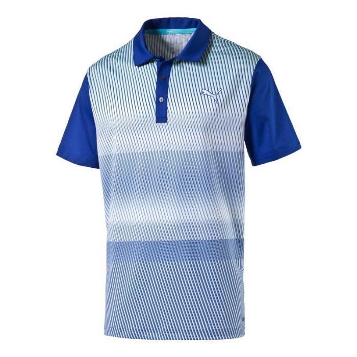 Puma Brushstripe Polo Shirts