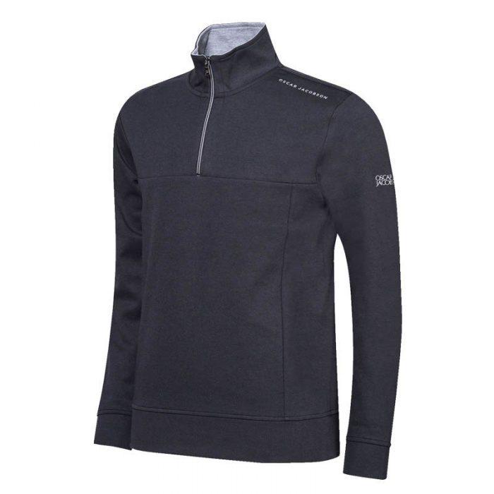 Oscar Jacobson Hawkes Course Half-zip Sweaters