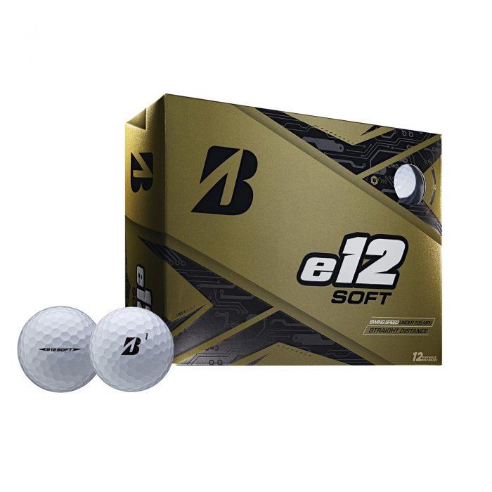 Bridgestone e12 Soft Golf Balls - Multibuy x 3