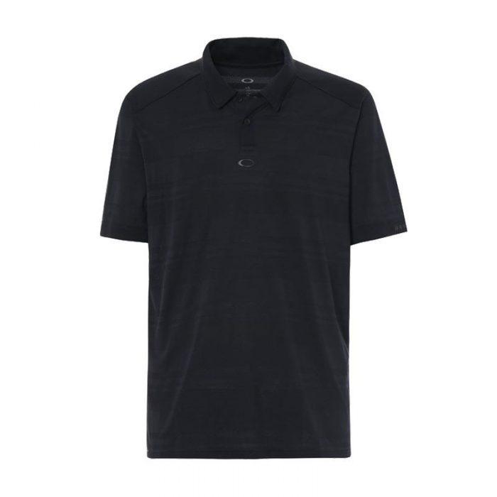 Oakley Aero Stripe Jacquard Polo Shirts